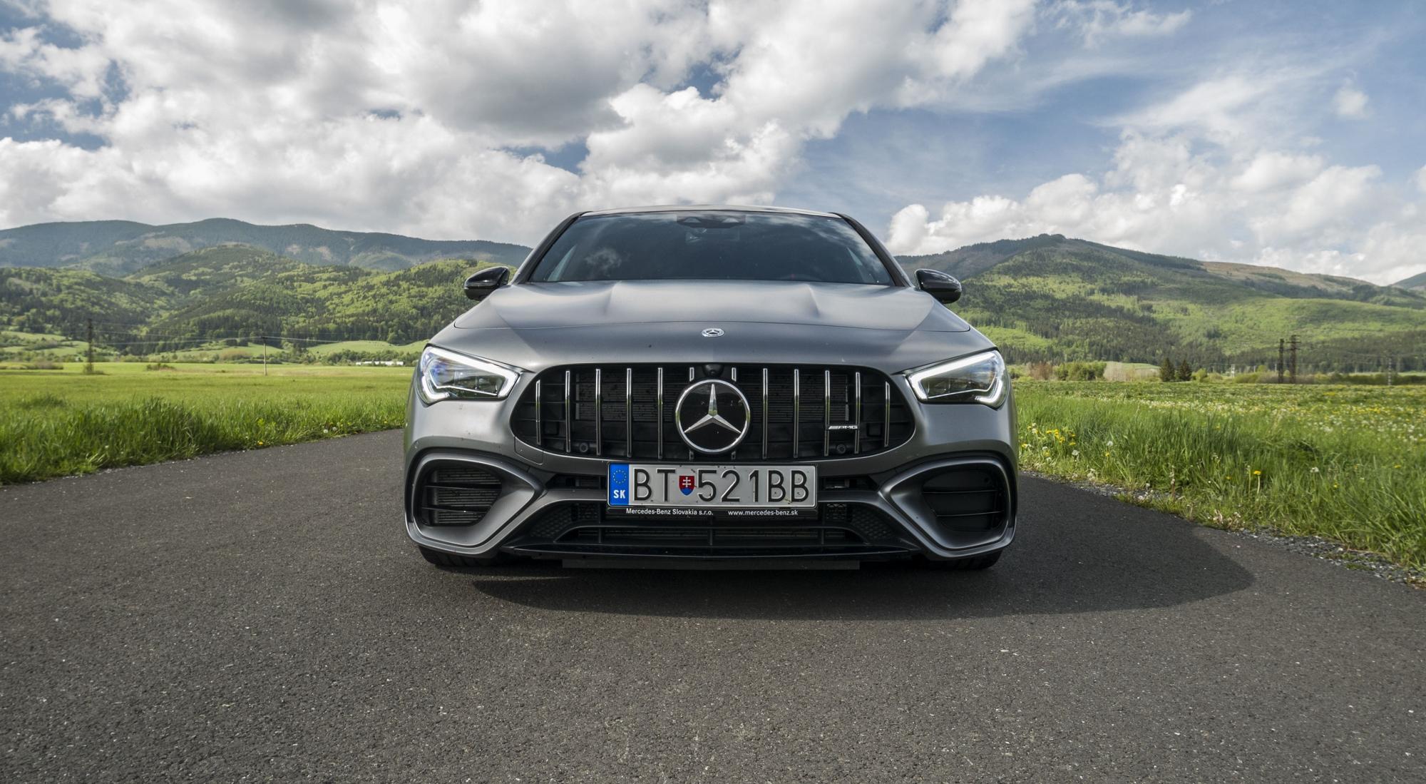 Mercedes CLA AMG 45 S (63)