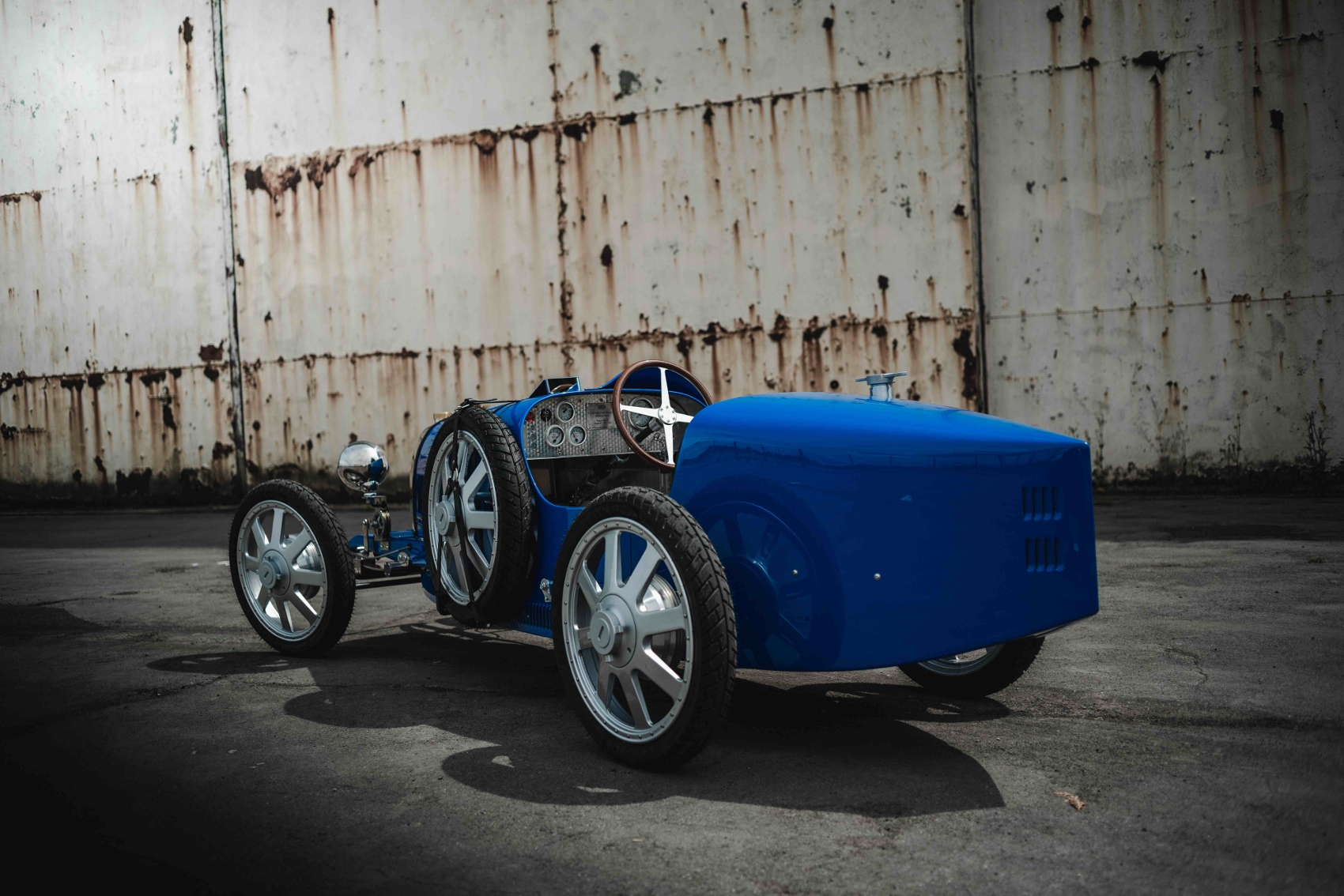 The Bugatti Baby II is 75 percent scale replica of the Bugatti Type 35 (1700x1134)