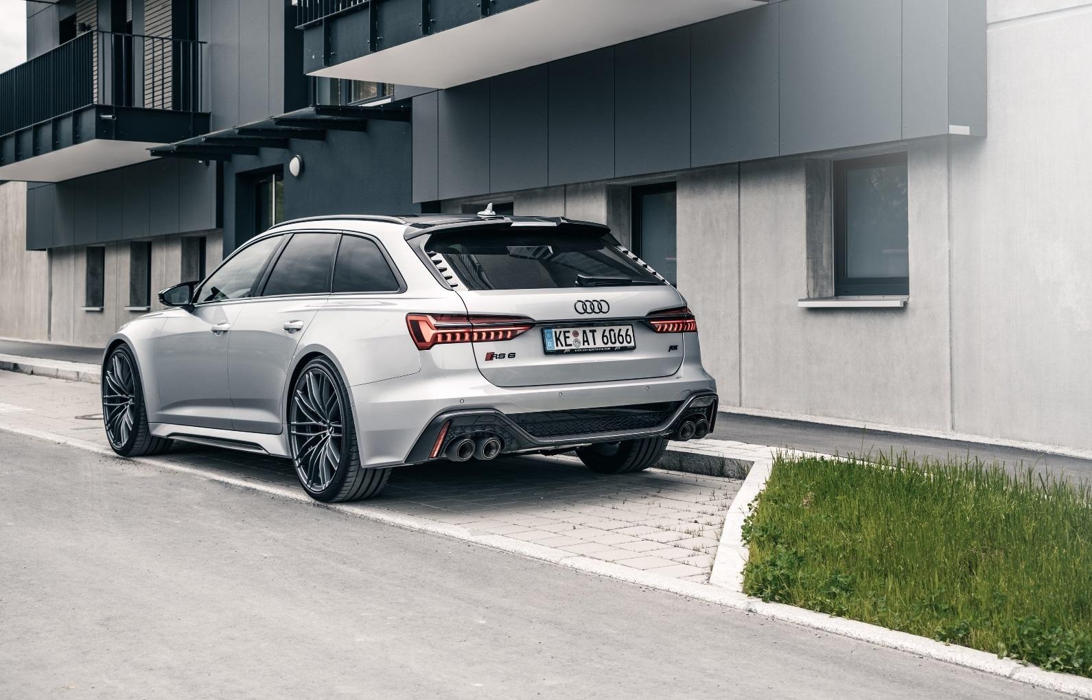 Audi RS6 od ABT dostalo emotívnejší zvuk a vyšší výkon