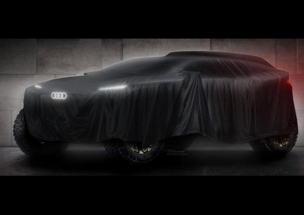 Audi sa chystá na Dakar a staví na elektrický pohon