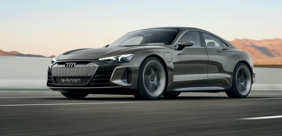 Audi ukázalo e-tron GT concept, od sériového nástupcu sa veľmi nelíši
