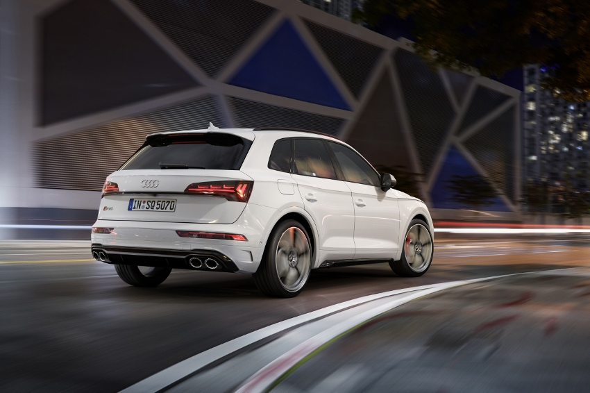 Audi vylepšilo naftový motor V6 modernizovaného modelu SQ5