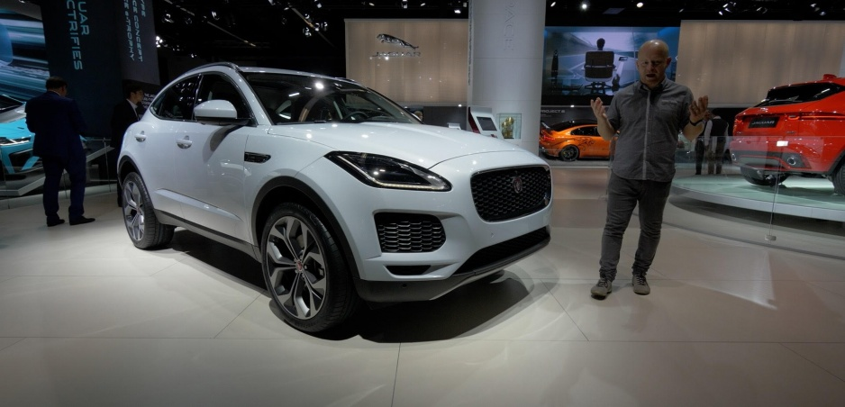 Autosalón Frankfurt: Jaguar E-Pace ukazuje svaly na malom priestore