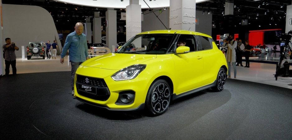 Autosalón Frankfurt: Suzuki Swift Sport nestavia na výkone, ale na hmotnosti