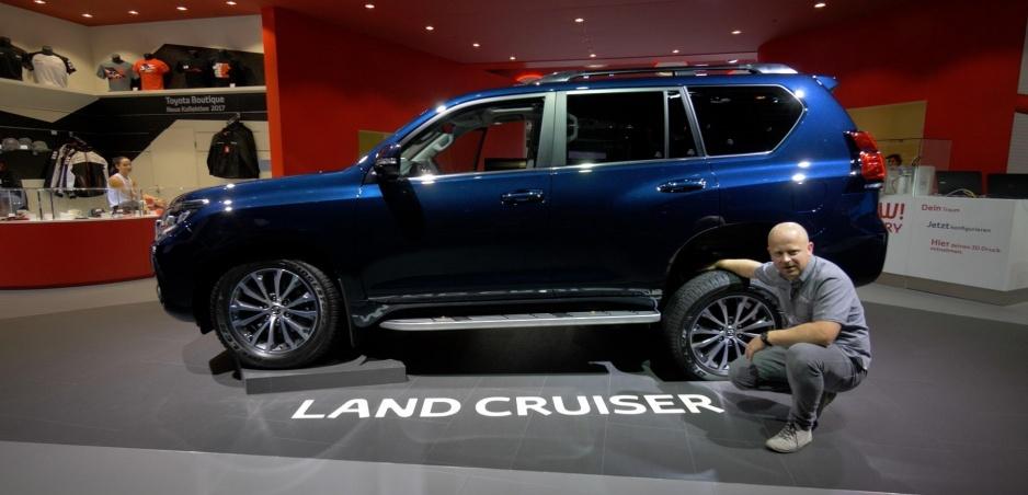 Autosalón Frankfurt: Toyota Land Cruiser opeknela, ale ostáva v prvom rade off roadom