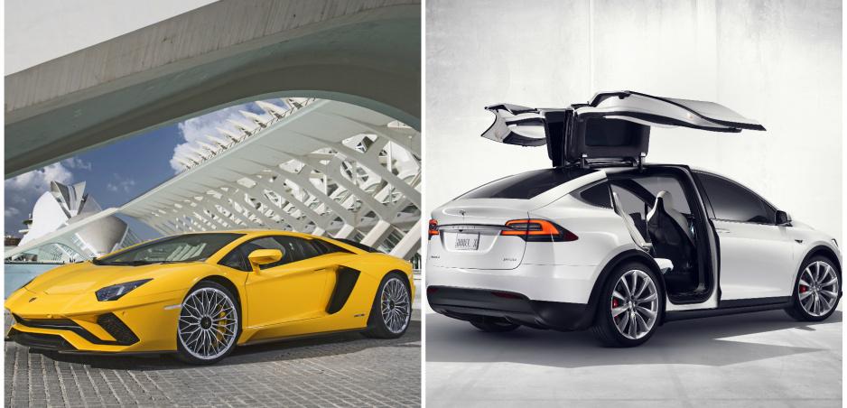 Aventador SV vs. Model X: Pretek v šprinte skončí prekvapivo