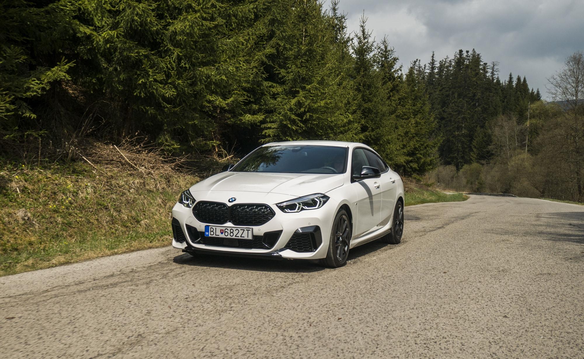 BMW Gran Coupé 235i xDrive spája eleganciu a dynamiku v zákrutách
