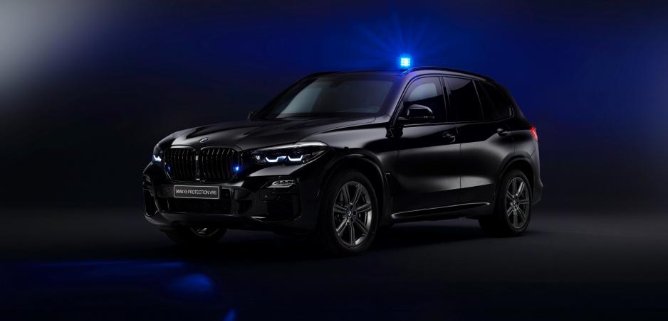 BMW vyzbrojilo SUV X5 nepriestrelnou ochranou VR6