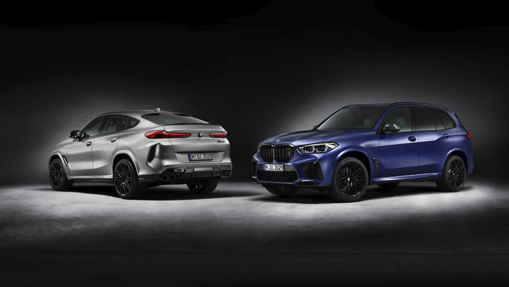 BMW X5 M a X6 M Competition prichádza v limitovanej sérii First Edition