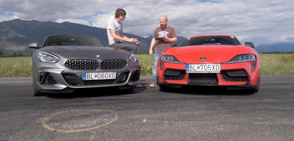 BMW Z4 Roadster M40i sa postavil proti Toyote GR Supra