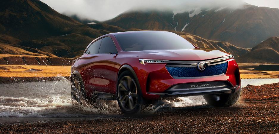 Buick Enspire je americký pohľad na blízku budúcnosť elektrických crossoverov