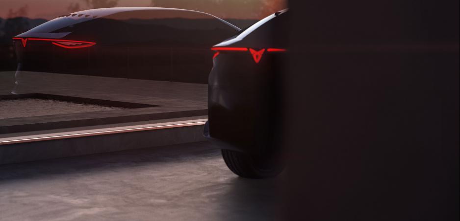 Cupra prinesie do Frankfurtu koncept elektrického SUV-Coupé