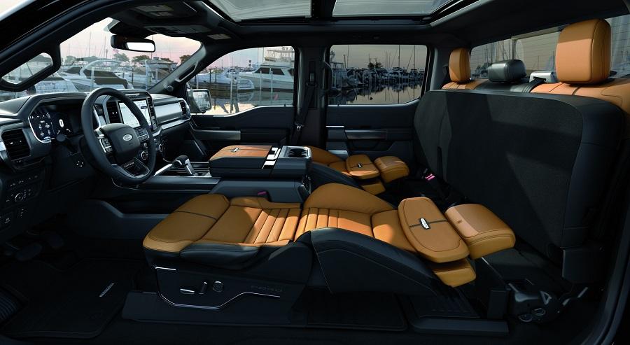 Ford F-150 dostal nové exkluzívne sedadlá na spanie