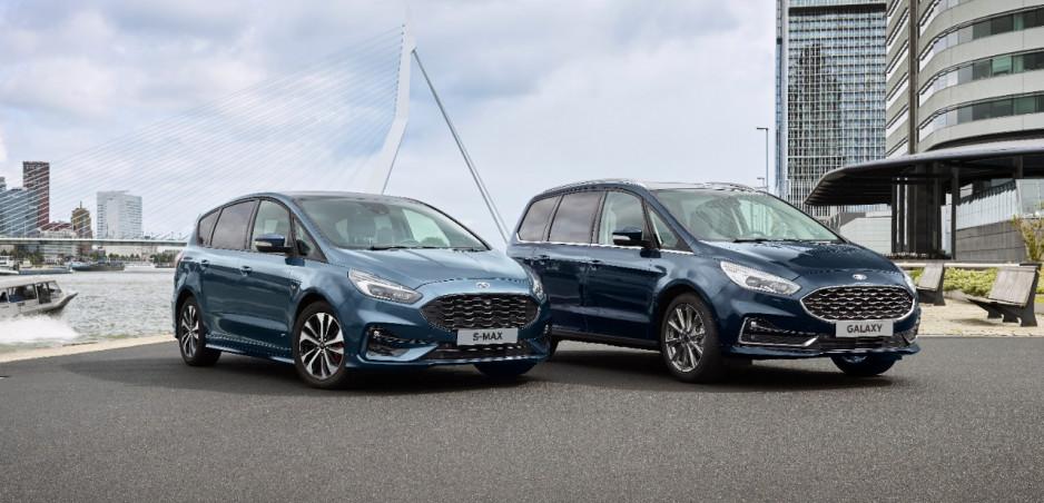 Ford predstaví hybridné verzie Galaxy a S-Maxu. Prídu tento rok