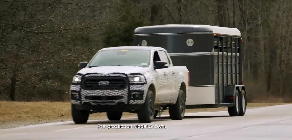 Ford Ranger začne sledovať slepý uhol aj za prívesom