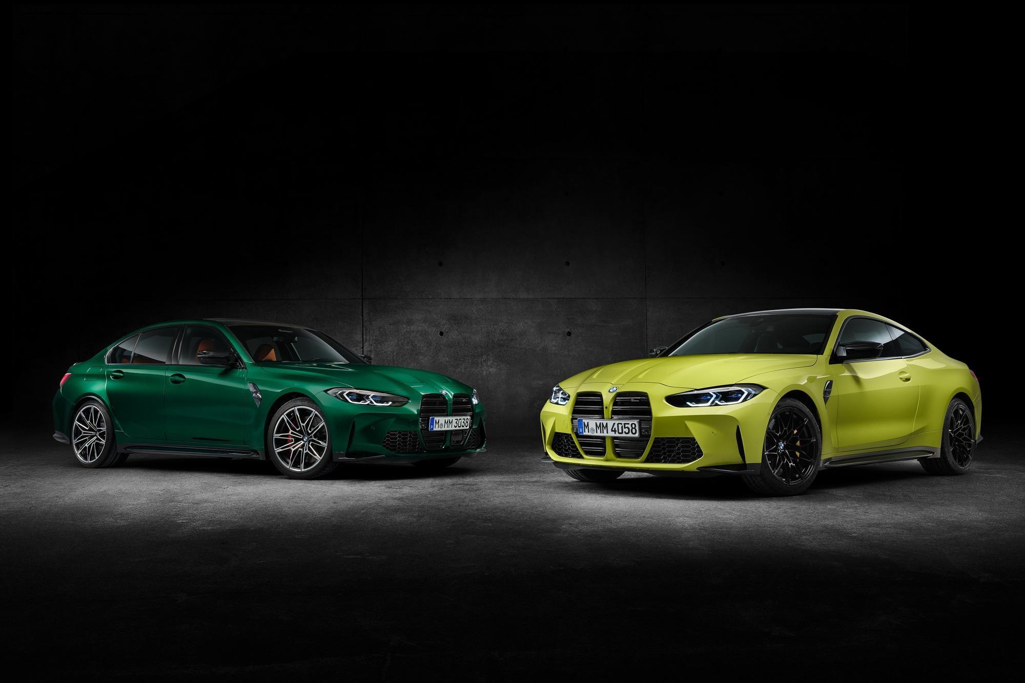 Fotky nového BMW M3 a M4 unikli pred premiérou