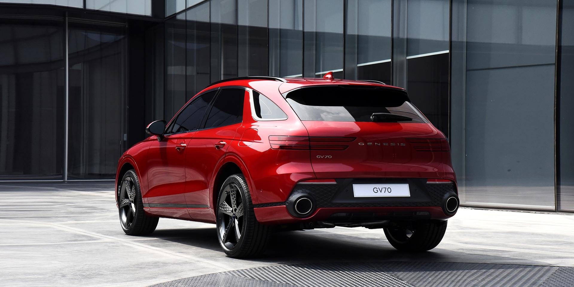 Genesis predstavil nové SUV GV70, konkurenta pre Q5, X3 a GLC