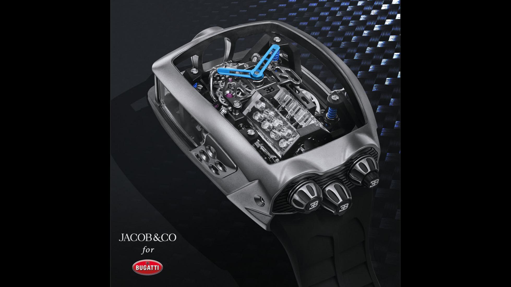 Hodinky Bugatti majú cenu drahého auta a miniatúrny šestnásťvalec