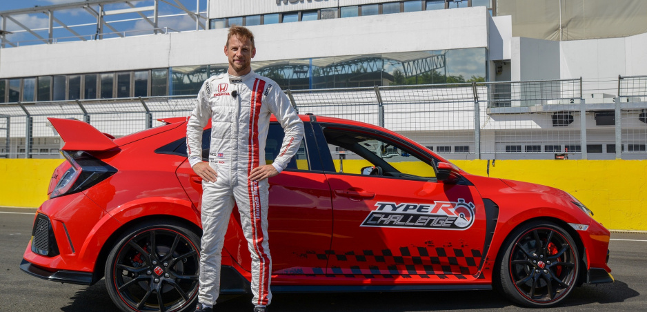 Honda Civic Type R má už všetkých päť rekordov, posledný vybojoval Jenson Button
