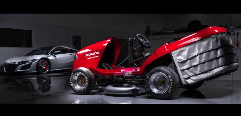 Honda stavia najrýchlejšiu kosačku, prekoná 200 km/h.
