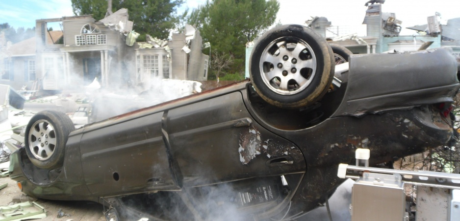 Hrozivé nehody: Keď aj autá dostanú krídla