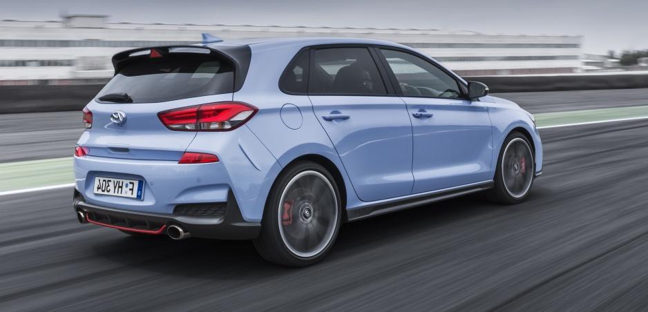 Hyundai i30 N prináša športový vietor do kórejských plachiet