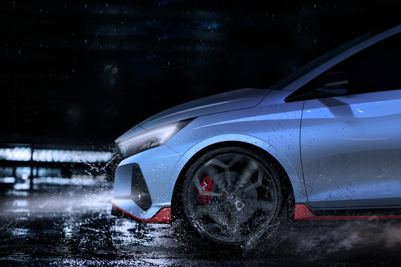 Hyundai ukázal prvé foto i20 N. Vypočujte si jeho zvuk