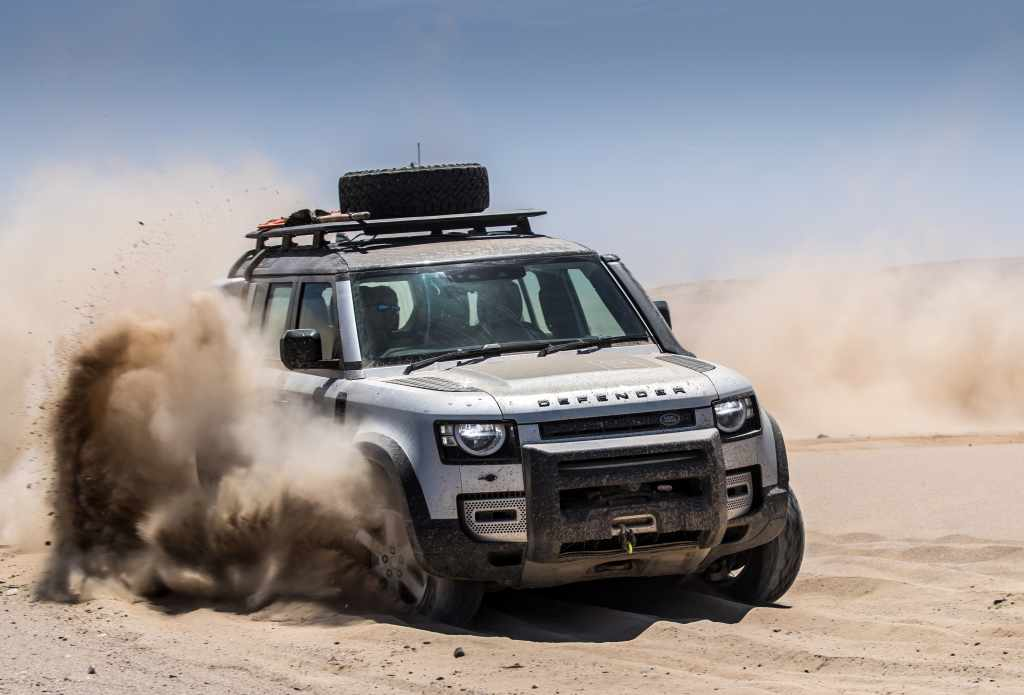 Jaguar Land Rover využíva vesmírne senzory pri testovaní moderných materiálov