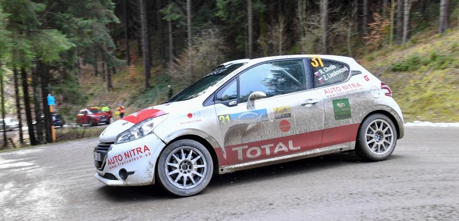 Jänner Rallye sme nedokončili, nezvládli sme pneumatikovú lotériu