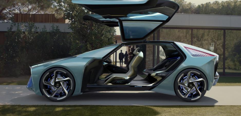 Koncept Lexus LF-30 ukazuje dizajn z roku 2030