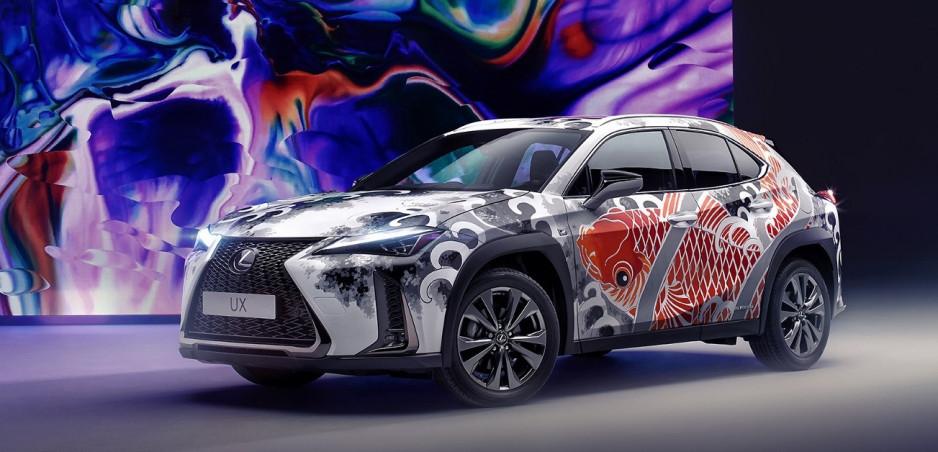 Lexus odhalil prvé tetované auto