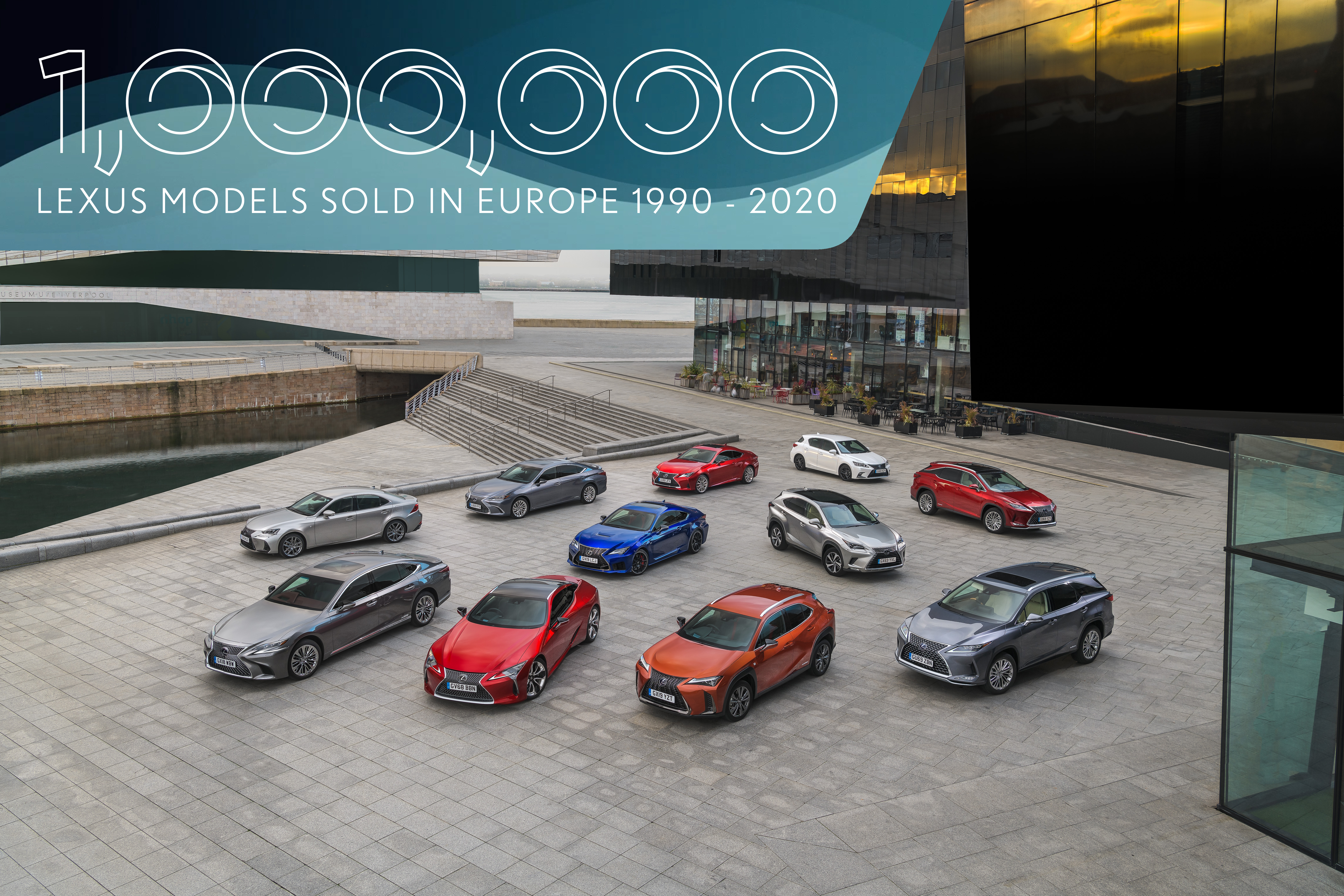Lexus predal v Európe už milión áut. Najpredávanejšie je SUV