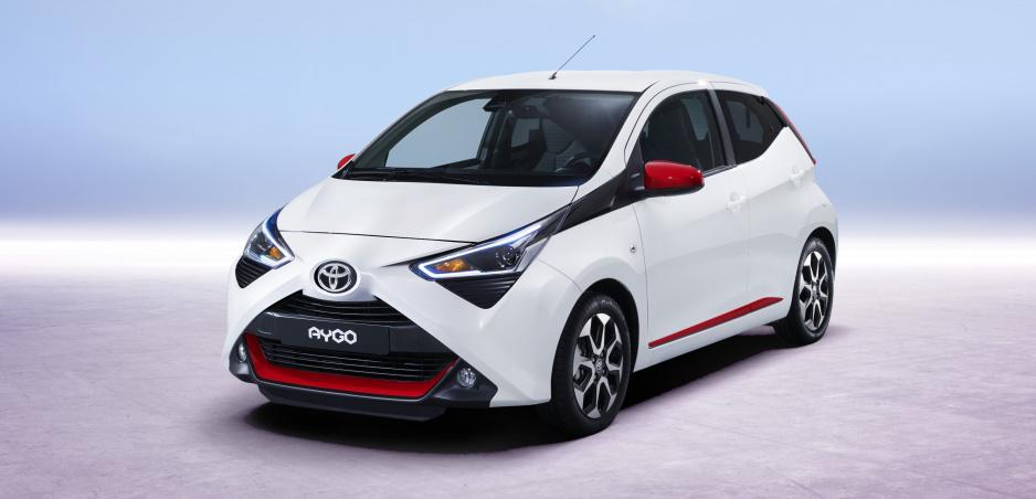 Malá mestská Toyota Aygo prešla modernizáciou