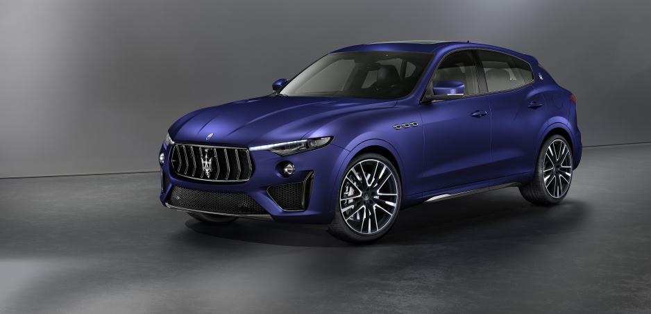 Maserati prinesie do Ženevy limitovanú edíciu Levante