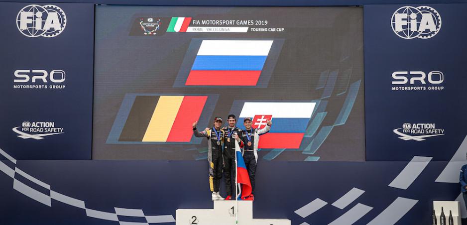 Maťo Homola získal na FIA Motorsport Games 2019 Rome bronz!