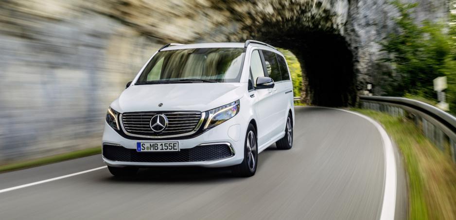 Mercedes EQV príde ako sériové vozidlo už budúci mesiac