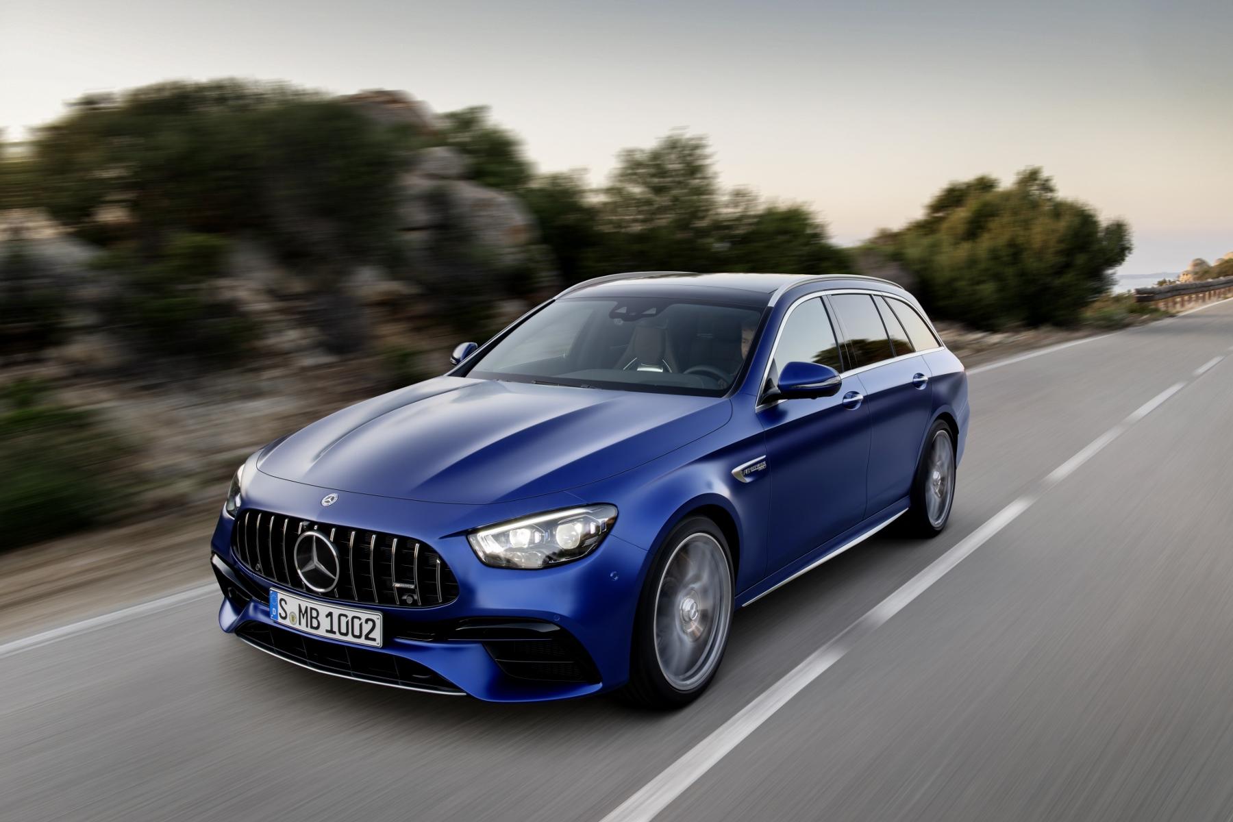Mercedes odpovedá na vynovené BMW M5 modernizáciou modelu AMG E63 S