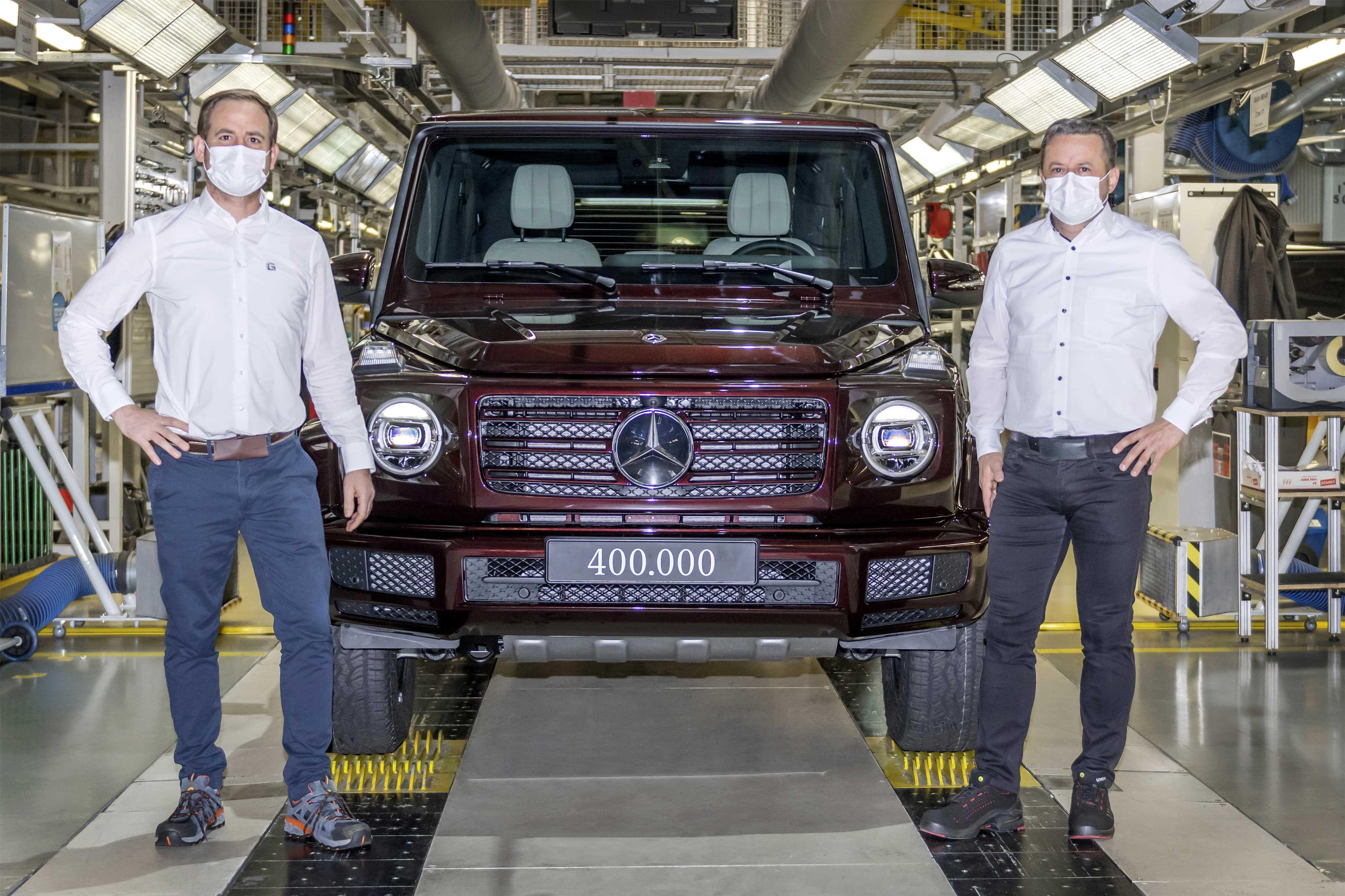 Mercedes predal 400 000 vozidiel Triedy G. Pozrite si terénnu ikonu na dobových fotkách