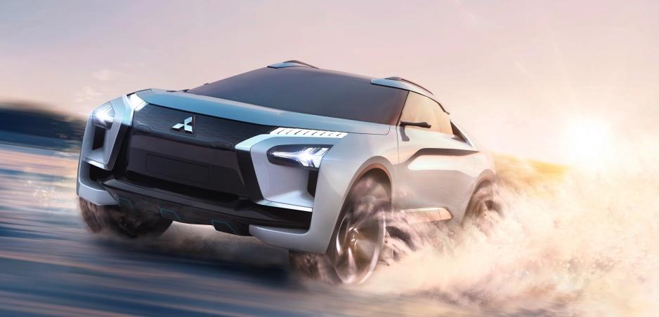 Mitsubishi e-Evolution Concept prevychová vodiča pomocou školenia