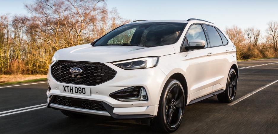 Modernizovaný Ford Edge prichádza do Európy