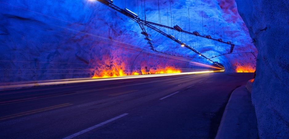 Najfascinujúcejšie cesty sveta 9: Tunel Laerdal (vyberáme z archívu)