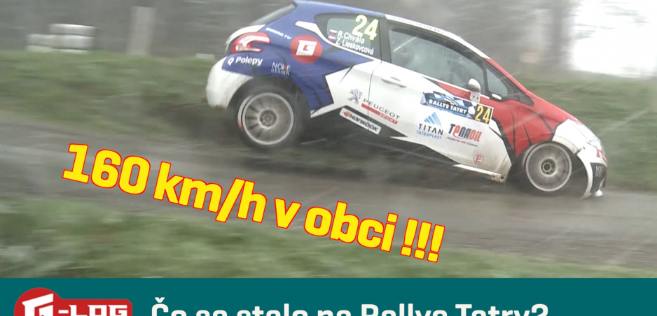 Návrat k Rallye Tatry: Pre nás to bolo krásne podujatie so zlým koncom