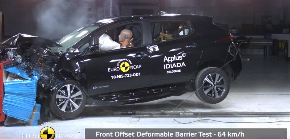Nissan Leaf uspel v novom prísnejšom testovaní bezpečnosti a získal päť hviezdičiek
