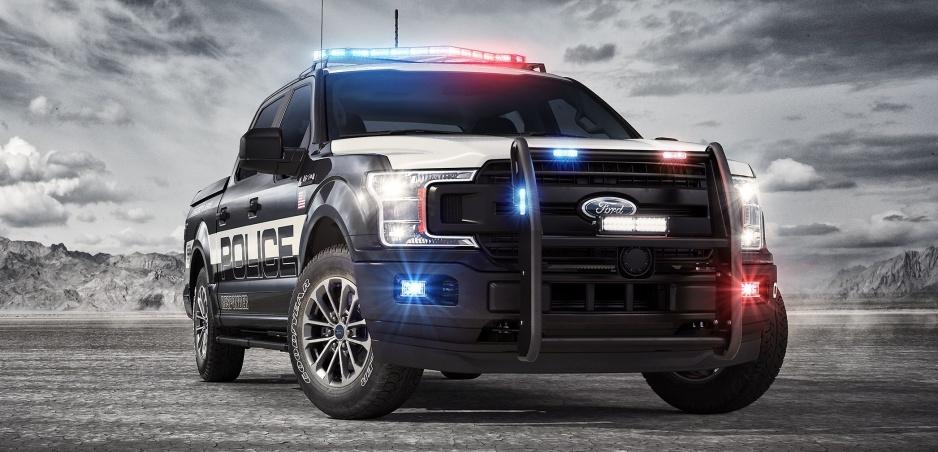 Nová policajná zbraň - špeciálne upravený Ford F150