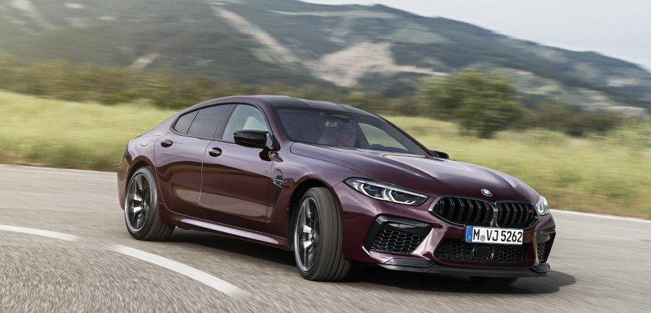 Nové BMW M8 Competition Gran Coupé kombinuje luxus, výkon, priestor aj zábavu