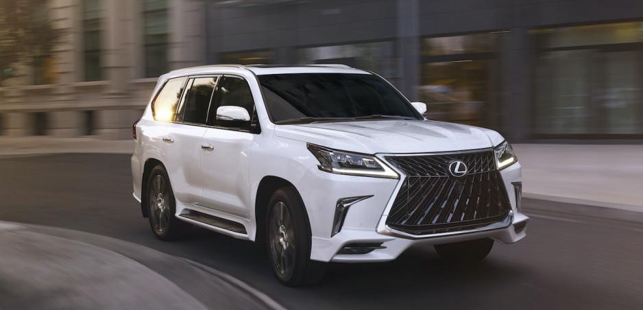 Nový Lexus LX bude luxusnou verziou Toyoty Land Cruiser