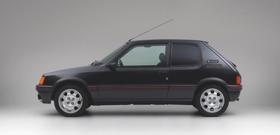 Obrnený Peugeot 205: Nie je to vtip a môže byť váš