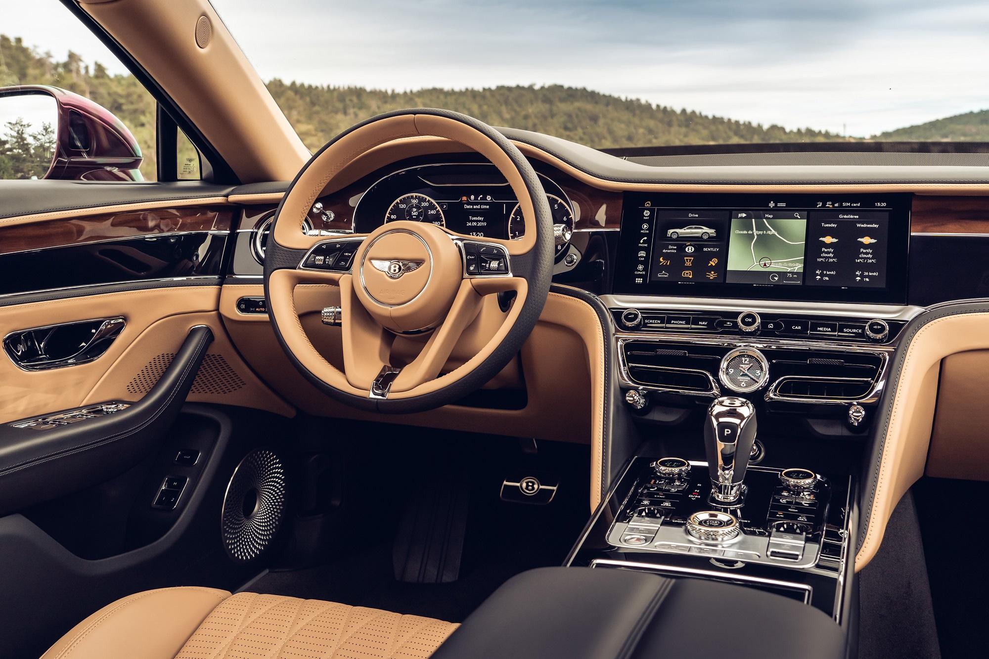 Otočný panel v Bentley je kus efektnej a precíznej techniky