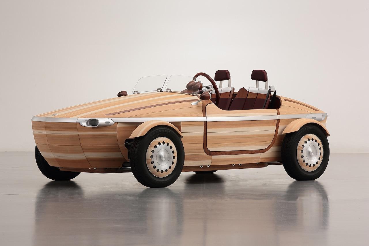 Pamätáte si jedinečný koncept Toyota Setsuna? Bol celý z dreva