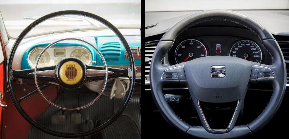 Pozrite si na príklade Seatu, ako sa časom vyvíjal volant